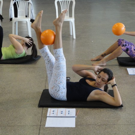 mat pilates curso sp para saúde bola